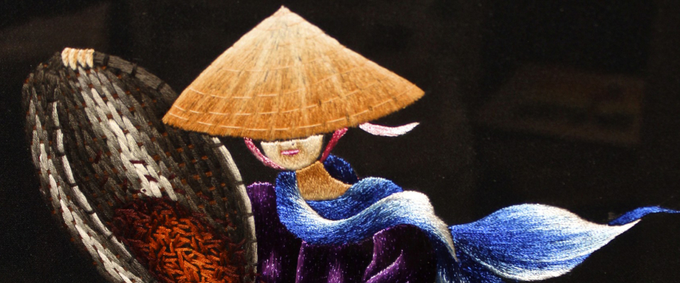 Quiet Meditation – The Delightful Art of Vietnamese Hand Embroidery