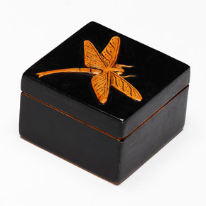 Hand Carved Soapstone Box