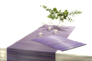 Vietnamese Bamboo Placemats and Table Runner