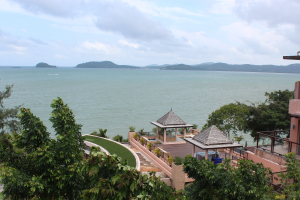 On my bucket list for Asia Travel: a view of the Andaman Sea from the Westin Siri Bay