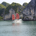 Indochina Junk on Halong Bay