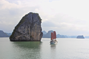 Halong Bay dreamy morning