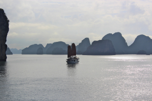 Beautiful Halong seascape